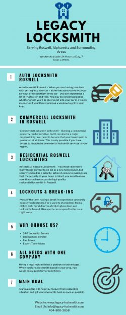 Legacy Locksmith - Infographic